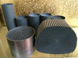 High Flow Car Catalytic Converter Metal Metálico Honeycomb Catalyst Substrato