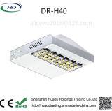 Kundenspezifisches energiesparendes LED im Freienstraßenlaternedes Entwurfs-IP65 40W für Großverkauf