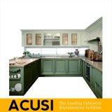Новая наградная мебель кухни неофициальных советников президента твердой древесины типа оптовой продажи u (ACS2-W20)