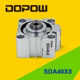 Cylindrée pneumatique compacte Dopow Sda Series (SDA23-30)