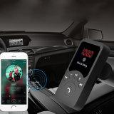 Adaptador audio del receptor Bluetooth del coche del MP3 del kit FM del coche sin manos sin hilos del transmisor 3.1A Bluetooth con el telecontrol