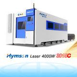 Automatischer Faser-Laser-Scherblock der Ausschnitt-Maschinen-4000W rostfrei