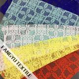 A maioria de tela de nylon do laço do algodão colorido popular