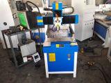 Graveur de commande numérique par ordinateur de porte de métier en bois de cylindre mini