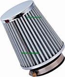 Kohlenstoff-Luftfilter 90 Stutzen der mm-Oberseite-76mm allgemeinhin für Auto-Einlass