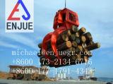 A garra de madeira da garra hidráulica elétrica da madeira luta