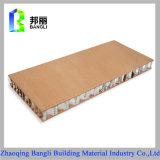 Painel de madeira de alumínio do favo de mel da grão da pedra da grão para a decoração Using