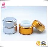 Vaso della crema anodizzato pacchetto di alluminio del contenitore di alluminio