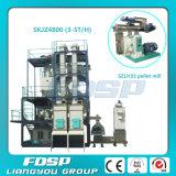 Технологическая линия животного питания с аттестацией SGS ISO CE (SKJZ5800)