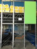 신식 Prefabricated 건물 강철 프레임 벽면