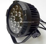 Напольный свет РАВЕНСТВА 18*15W RGBWA UV СИД тонкий плоский с радиотелеграфом