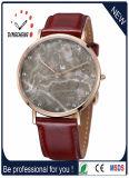 Reale MarmorEdelstahl Miyota Bewegungs-Kristallmann-Armbanduhr