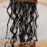 、波状毛編む100%の人間の毛髪のRemyの毛毛Exntension