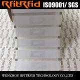 Etiqueta inalterable destructible imprimible del espacio en blanco RFID NFC del embutido de Ntag