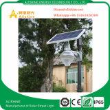 Luz solar Shaped 9W do jardim da lua da potência solar, 12W, 18W