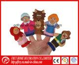 Поставщик Китая для игрушки марионетки перста плюша