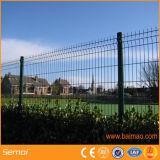 학교 문 안전 정원 녹색 PVC 3D 철망사 담