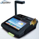 Crédito Android da posição do toque desktop do restaurante de Supermaket e máquina do leitor do cartão de crédito