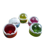 Os cinzeiros da melamina, o diâmetro 15.5/17.5/8cm, o logotipo, o tamanho e a cor podem ser personalizados