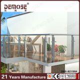 Sistemas de pasamano de cristal del balcón del acero inoxidable (DMS-B21190)