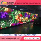 Visualizzazione di LED esterna di colore completo di P6 SMD per la pubblicità dello schermo