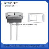 Cuarto de baño que ajusta el botón dual para los tanques del tocador o de agua