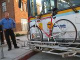 2017 cremagliere d'acciaio Prodotto-Inossidabili calde della bici di transito/cremagliera della bici transito del bus per il servizio dell'America
