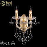 熱い販売の金金属の水晶壁ライト