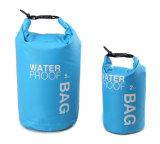 Piccolo sacco asciutto leggero asciutto impermeabile del sacchetto 5L/sacchetti asciutti - attrezzo di cappelli asciutto per Kayaking, la spiaggia, trasportare, canottaggio, l'escursione, il campeggio e pescare