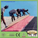 Os materiais de telhadura tornam o cobertor das lãs de vidro