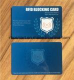 De plastic Blokkerende Kaart van de Spaanders RFID van identiteitskaart voor het Veilige Schild van de Bescherming
