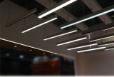 Objektivauswechselbares LED lineares Trunking-Licht