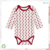 Rotes Baby-Kleid-Unisexbaby Onesie