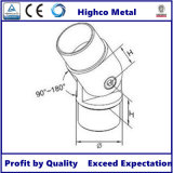Carpintero enrasado ajustable de 180 grados para el sistema de Hanrail del acero inoxidable
