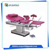 Stoel van de Gynaecologie van het Ziekenhuis van China de Elektrische Chirurgische, de Medische Stoel van Gyn van de Gynaecologie