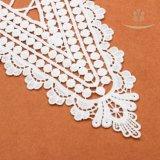 Merletto alla moda del collare del merletto del fiore