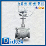 Didtek echó la vávula de bola montada muñón del acero inoxidable CF8m con la extensión del vástago