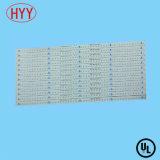 백색 땜납 가면 및 OSP 지상 Treament (HYY-061)를 가진 알루미늄 LED PCB