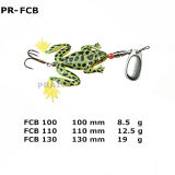 Artaire artificiel Pr-Ffb 9g / 12g / 18g Soft Frog Fishing Lure