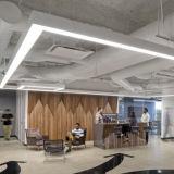 사무실 점화를 위한 이음새가 없는 연결 LED 선형 중계 빛