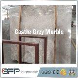 Laje de mármore cinzenta italiana da alta qualidade para o revestimento da entrada do hotel