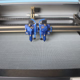 O dobro dirige o cortador do laser do CO2 para os produtos do bordado (JM-750T)