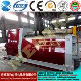 Máquina de rolamento aprovada Mclw12xnc-10*2000 da placa do CNC do Ce relativo à promoção de Rolls da placa