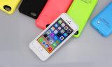 caso del cargador de la caja del teléfono de la batería 2200mAh para el iPhone 5 5c