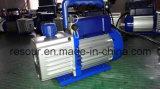 Bomba de vácuo (com indicador de vácuo e válvula solenóide) para refrigeração, Vp115, Vp125, Vp135, Vp145, Vp160, Vp180, Vp1100