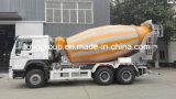 HOWO A7 290HP 6X4 구체 펌프 믹서 트럭