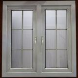 Het Openslaand raam van het Glas van de Dubbele Verglazing van de Verkoop UPVC van de Fabriek van China met Zonneblinden voor het Huis van de Villa