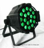 18*15W RGBWA (UV) LED 급상승 세척 효력 동위 빛