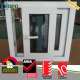 Cursore resistente agli urti premiato Windows di UPVC con vetro tinto