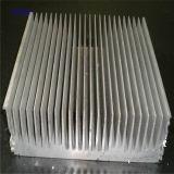 Le radiateur, commande numérique par ordinateur usinant, noircissent anodisé,